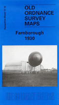 Town Map Hampshire: Farnborough 1930