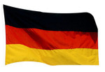 Paper House Productions Mini Cut-Outs German Flag