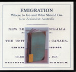 Emigration: Where to Go, and Who Should Go: New Zealand and Australia