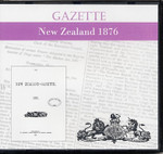 New Zealand Gazette 1876