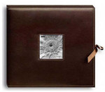 Pioneer 12x12 Sewn Frame-Box Scrapbook Album (Brown)