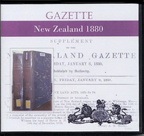 New Zealand Gazette 1880