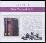 New Zealand Gazette 1882