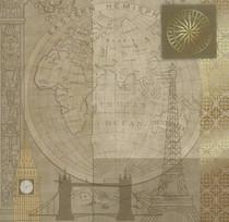 Paper Pizazz 12x12 Travel East