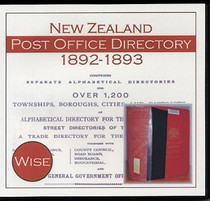 New Zealand Post Office Directory 1892-93 (Wise)