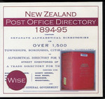 New Zealand Post Office Directory 1894-95 (Wise)