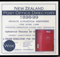 New Zealand Post Office Directory 1898-99 (Wise)
