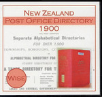 New Zealand Post Office Directory 1900 (Wise)