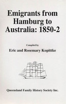 Emigrants From Hamburg to Australia 1850-52