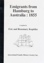 Emigrants From Hamburg to Australia 1855