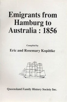 Emigrants From Hamburg to Australia 1856