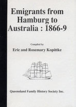 Emigrants From Hamburg to Australia 1866-69