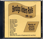 Bendigo Voters Rolls 1896-1914