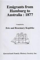 Emigrants From Hamburg to Australia 1877