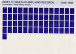 Index to Queensland Land Records 1856-1859