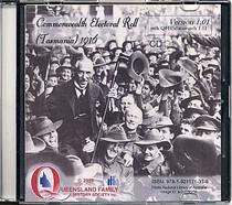 Tasmania Commonwealth Electoral Roll 1916