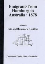 Emigrants From Hamburg to Australia 1878