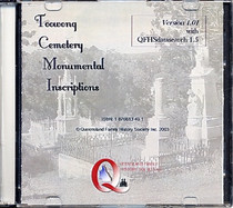 Queensland Cemeteries Monumental Inscriptions: Toowong