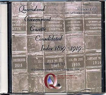 Queensland Government Gazette Consolidated Index 1859-1919