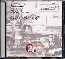 Queensland Public/Civil Service Index 1864-1948