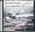 Queensland Gazetted Licences Index 1860-1901