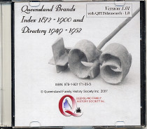 Queensland Brands Index 1872-1900 and Directory 1949-1952