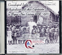 Genealogical Index to Australians and Other Expats in Papua New Guinea 1888-1975