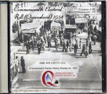 Queensland Commonwealth Electoral Roll 1934 1