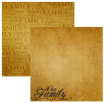 Reminisce 12x12 Signature Our Family #2