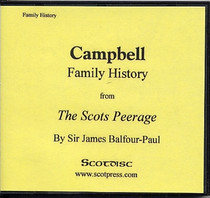 Campbell Family History from The Scots Peerage