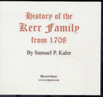 History of the Kerr Family From 1708