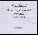 Scotland Return of Owners of Lands and Heritages 1872-1873