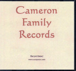 Cameron Family Records