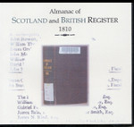 Almanac of Scotland and British Register 1810 - CD