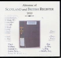 Almanac of Scotland and British Register 1810 - CD