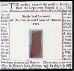 Statistical Account of the Parish and Town of Dundee 1792