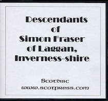 Descendants of Simon Fraser of Laggan, Inverness-shire