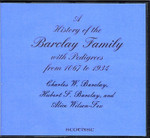 A History of the Barclay Family with Pedigrees from 1067 to 1934