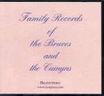Family Records of the Bruces and the Cumyns