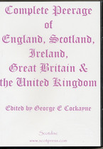 Complete Peerage of England, Scotland, Ireland, Great Britain and the United Kingdom
