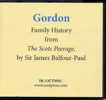 Gordon Family History from The Scots Peerage