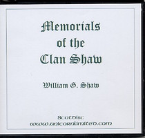 Memorials of the Clan Shaw