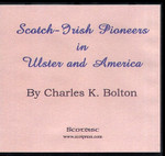 Scotch-Irish Pioneers in Ulster and America