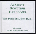 Ancient Scottish Earldoms