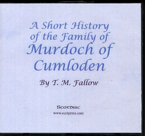 A Short History of the Family of Murdoch of Cumloden