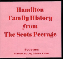 Hamilton Family History from The Scots Peerage