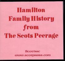 Hamilton Family History from The Scots Peerage