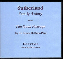Sutherland Family History from The Scots Peerage