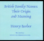 British Family Names: Their Origin and Meaning