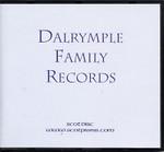 Dalrymple Family Records